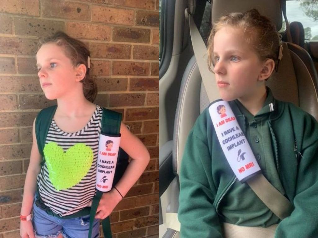 Aussie mum's seat belt covers for hidden disabilities